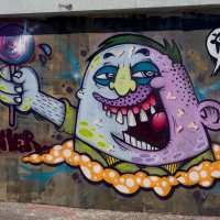 Frankfurt – Graffiti am Ratswegkreisel (71) August 2016