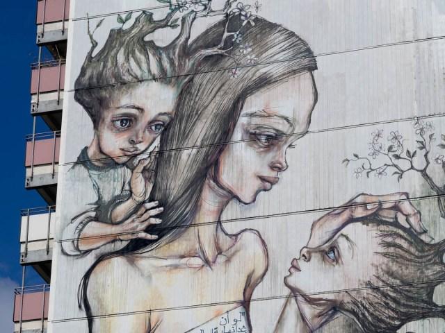 Berlin Streetart Herakut