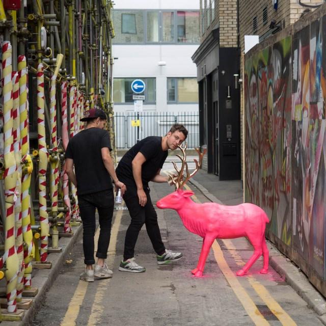 London Streetart Blackall Street