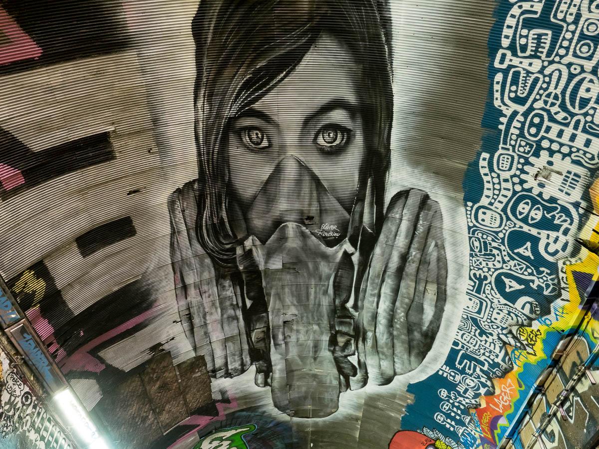 London Graffiti Leake Street