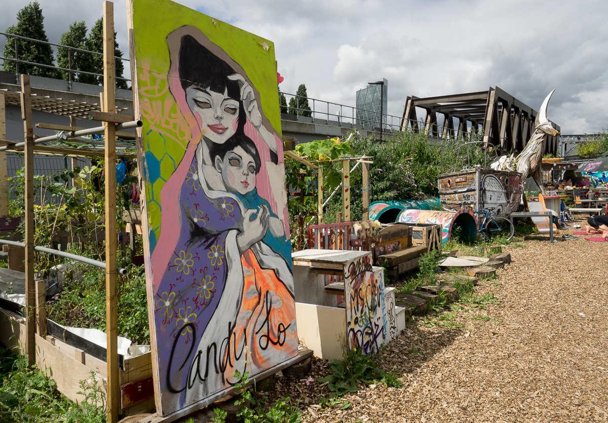 London Graffiti Meeting of Styles