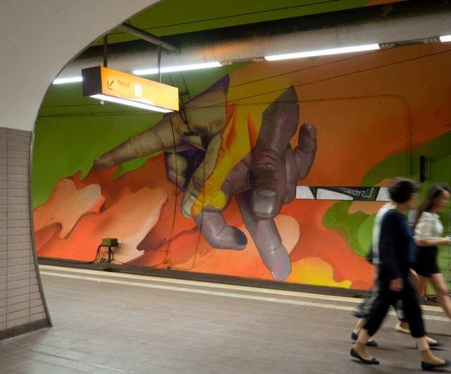 Frankfurt Graffiti Ostendstraße Case