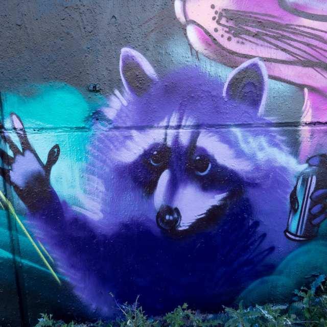 Graffiti Wiesbaden Bomber
