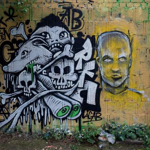 Graffiti Wiesbaden Schlachthof