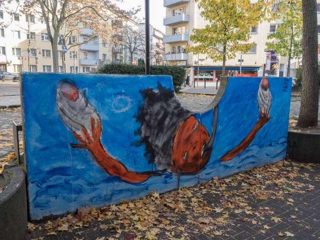 Graffiti Offenbach Goetheplatz