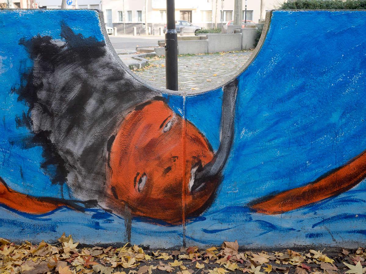 Fotografie graffiti streetart lost for Offenbach kunst
