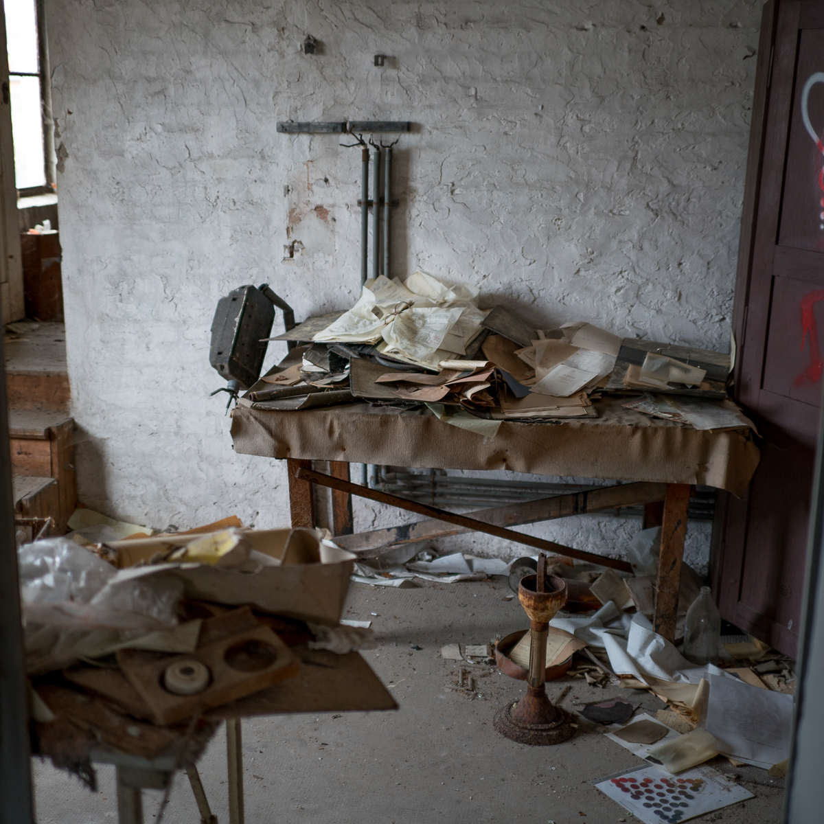 Ruheorte - Lederfabrik auf dem Lande (Lost Places/Urbex, 12 Bilder)