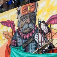 Unterwegs in Kolumbien 2017 (Part 07) – Graffiti von chota13 in der Comuna 13 in Medellin
