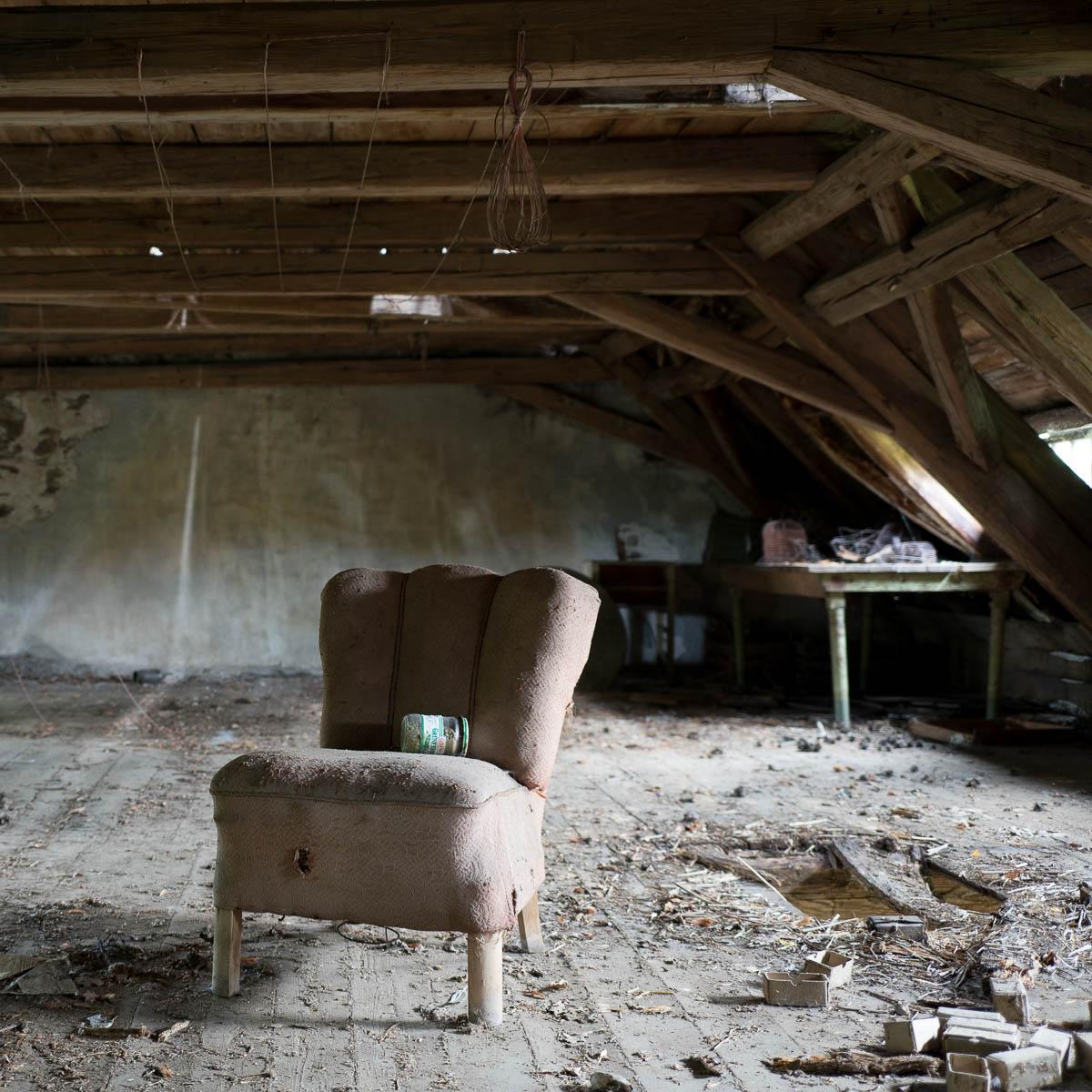 Lost Places Hunsr�ck: Sessel Ohne Aussichten (40) Im Kinderheim (Lost