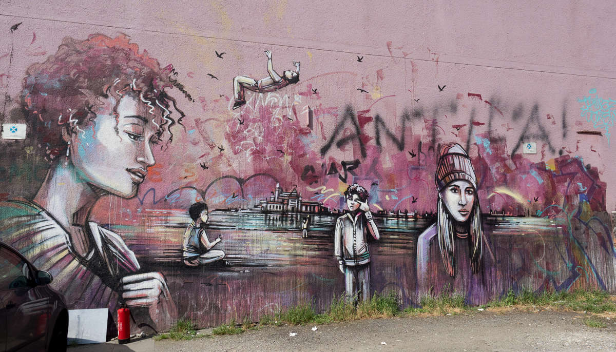Graffiti & Street Art in Dortmund #04 - Unionsviertel