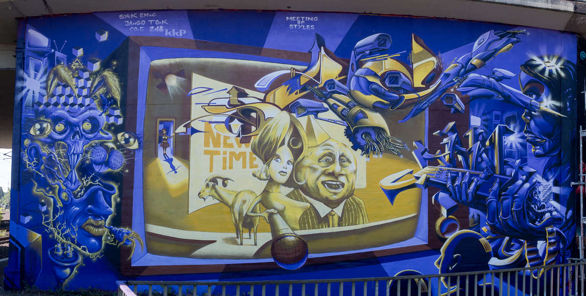 Meeting of Styles Wiesbaden 2018 – New Time by Syck, Emac, Jango, Tokk, Cole & kkp