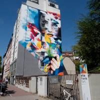 Graffiti in Frankfurt – Mural von Cor in Sachsenhausen