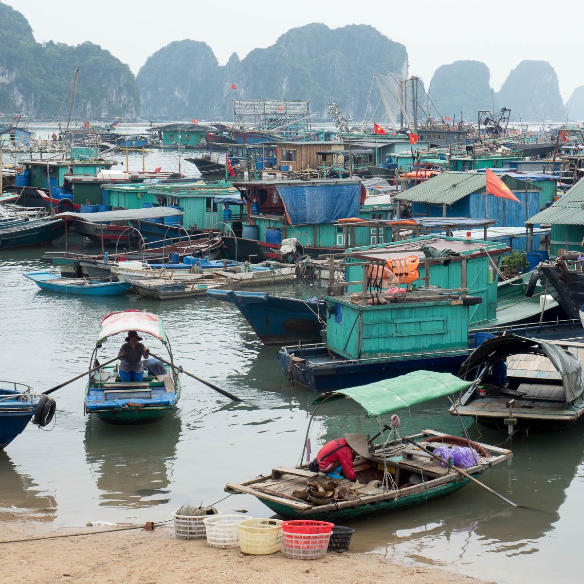 Reise durch Asien 2019 #13 Halong Bay bis Quan Lan
