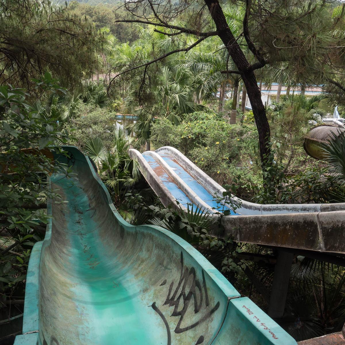 Reise durch Asien 2019 #16 Verlassener Wasserpark in Hue (Vietnam)