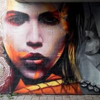 Graffiti in Frankfurt - Unterführung in Ginnheim