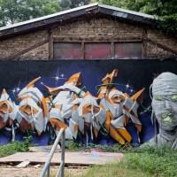 Graffiti am Kontext Wiesbaden 2020