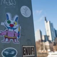 Street Art in Frankfurt - Ghetto Trash und ....
