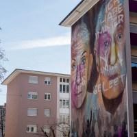 Mural von Akut in Mannheim - Gegen das Vergessen