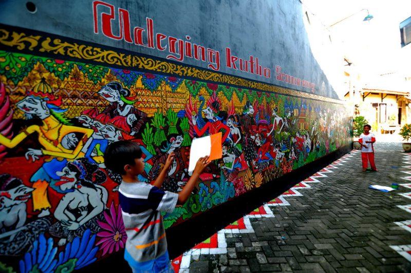 kampung Batik Semarang Unik