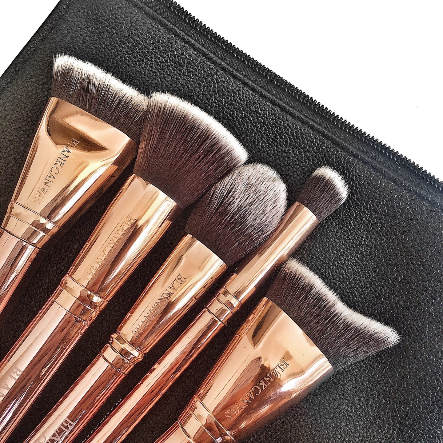 royal Meghan markle blank canvas cosmetics makeup brushes review