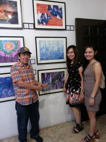 With Mr Fernando Sena and Alyssa