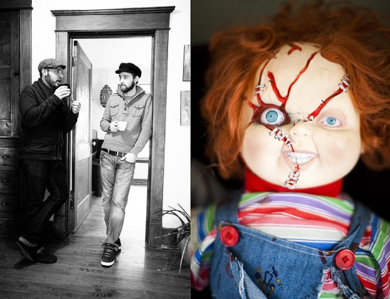 Toby, Alex and Chucky