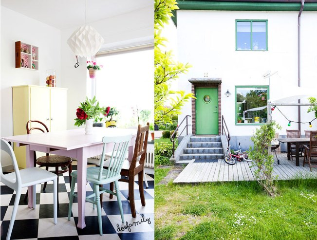 Welcome to another Dos Visit. Today I´ll take you to Skurup, Sweden for a visit at Marcus and Ulrika´s house.