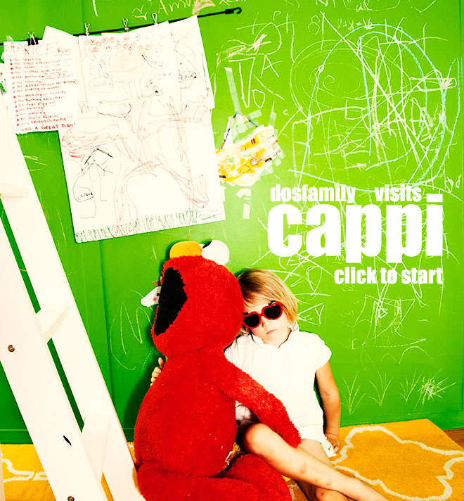 Welcome to Cappi´s room. Use arrows to flip through the slideshow