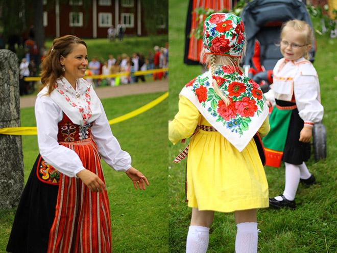 Swedish Folk Dress