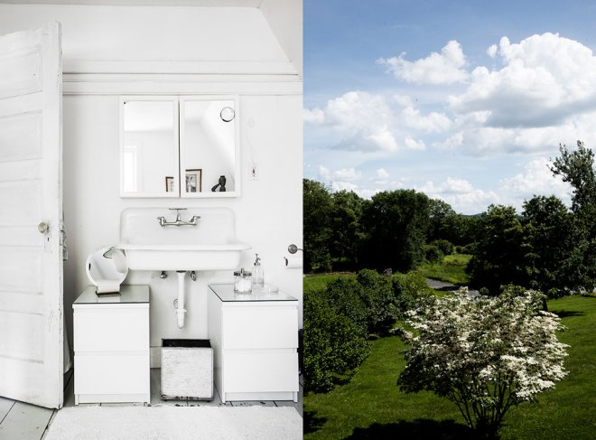 Bathroom and view