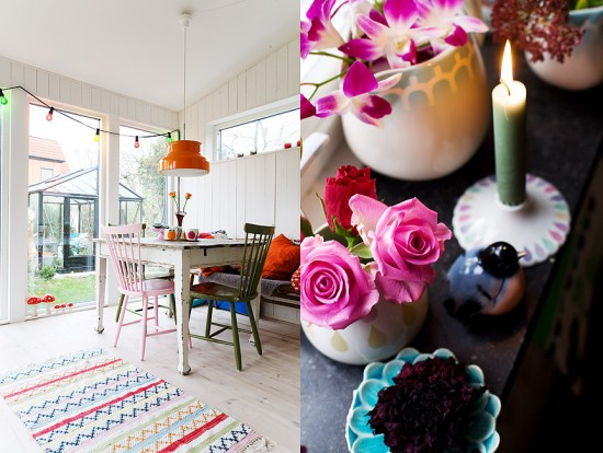 Monika Norrby photographs home and gardens for magazines, and she has a soft spot for roses.