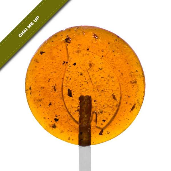 Single view of Dosha Pops' Chai Me Up lollipop