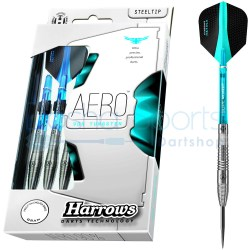 Harrows Aero 90% Tungsten 21 23 25 gram Packaging