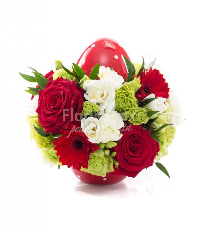 flori de paste ou ceramica