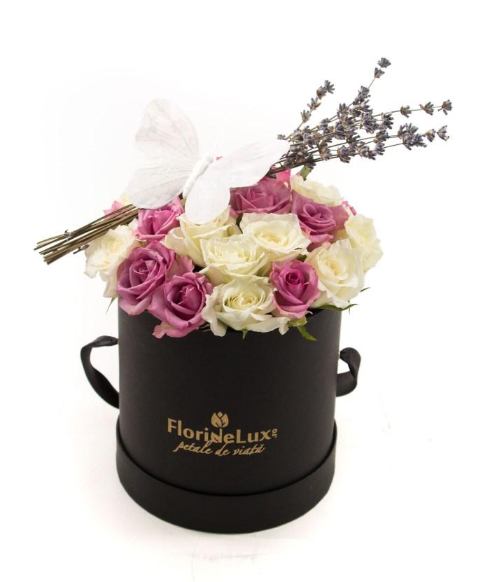 florarie online, cutie cu flori