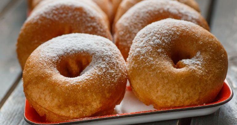 Пончики из советского детства
