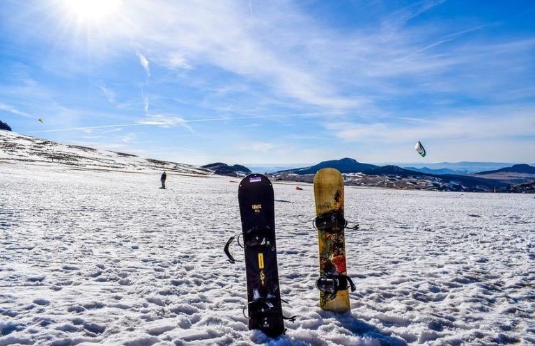 Катания на сноуборде