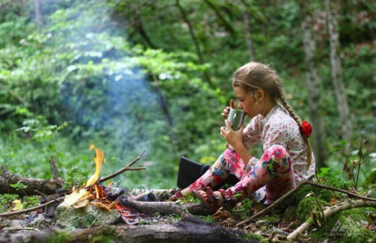 Ребенок и природа: стоит брать в поход или нет