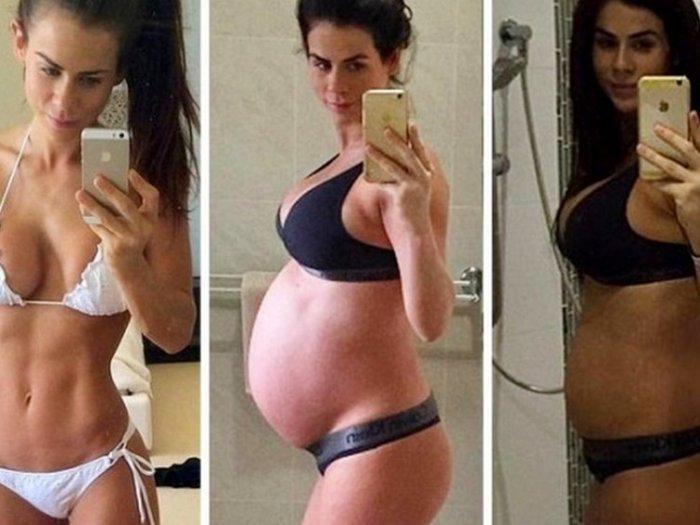 Как легко вернуть фигуру после родов?