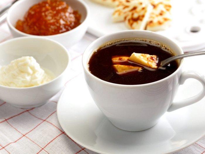 Кофе с сыром по-французски