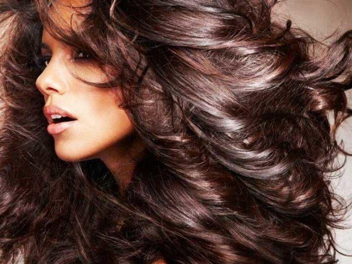 Блестящие и шелковистые волосы, как в рекламе