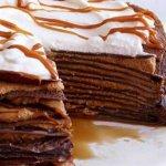 Рецепт идеального шоколадного блинного торта с творожным кремом
