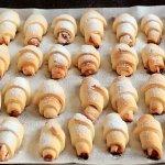 Песочное печенье на сметане и маргарине с джемом