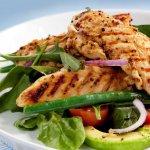 Диета на курином филе с овощами