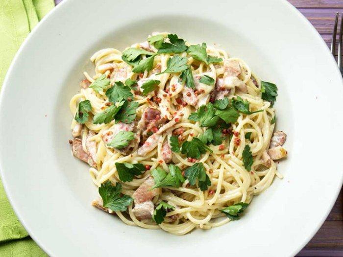 Спагетти карбонара рецепт приготовления
