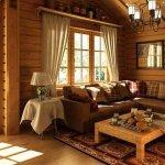Дизайн загородного дома в традиционных стилях