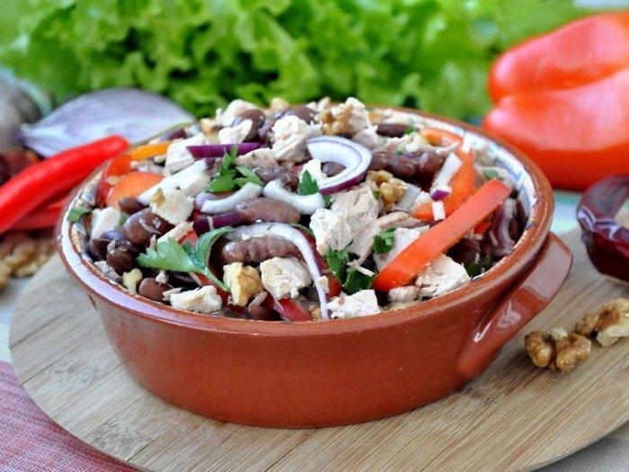 Классический салат Тбилиси