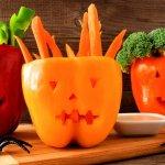 Рецепт на Хэллоуин: фаршированный перец Джек-фонарь