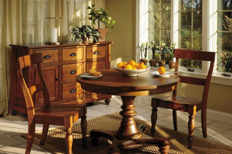Мебель из натурального дерева превыше всякой моды