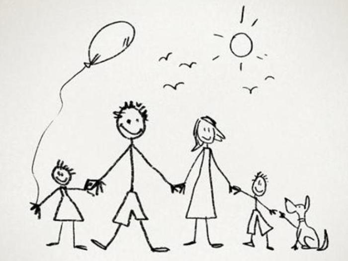 Рисунок семьи в психологии